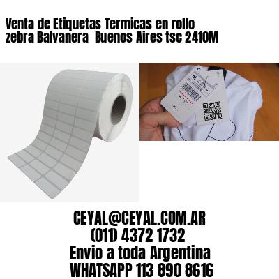 Venta de Etiquetas Termicas en rollo zebra Balvanera  Buenos Aires tsc 2410M