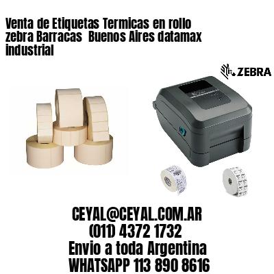 Venta de Etiquetas Termicas en rollo zebra Barracas  Buenos Aires datamax industrial