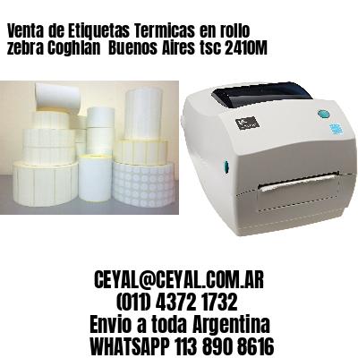 Venta de Etiquetas Termicas en rollo zebra Coghlan  Buenos Aires tsc 2410M
