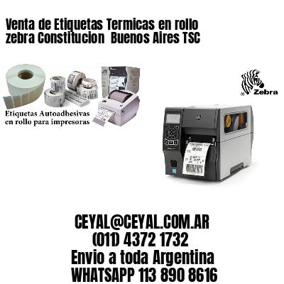 Venta de Etiquetas Termicas en rollo zebra Constitucion  Buenos Aires TSC