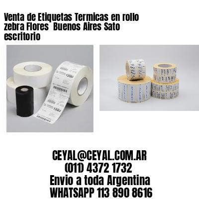 Venta de Etiquetas Termicas en rollo zebra Flores  Buenos Aires Sato escritorio