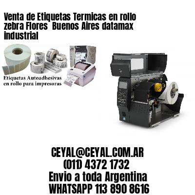 Venta de Etiquetas Termicas en rollo zebra Flores  Buenos Aires datamax industrial