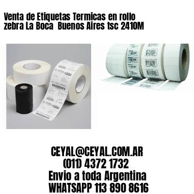 Venta de Etiquetas Termicas en rollo zebra La Boca  Buenos Aires tsc 2410M