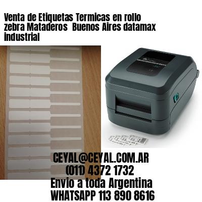 Venta de Etiquetas Termicas en rollo zebra Mataderos  Buenos Aires datamax industrial