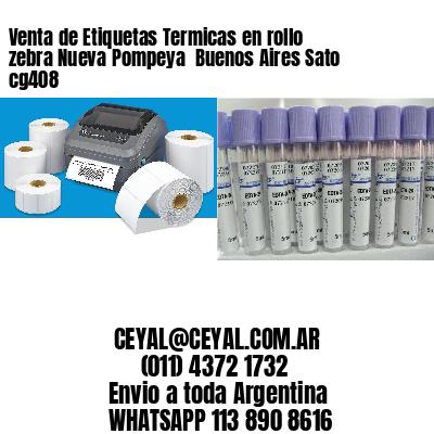 Venta de Etiquetas Termicas en rollo zebra Nueva Pompeya  Buenos Aires Sato cg408
