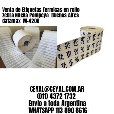 Venta de Etiquetas Termicas en rollo zebra Nueva Pompeya  Buenos Aires datamax  M-4206