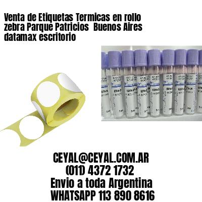 Venta de Etiquetas Termicas en rollo zebra Parque Patricios  Buenos Aires datamax escritorio