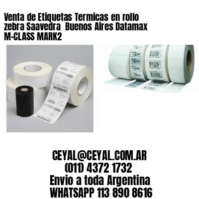 Venta de Etiquetas Termicas en rollo zebra Saavedra  Buenos Aires Datamax M-CLASS MARK2