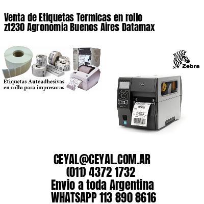Venta de Etiquetas Termicas en rollo zt230 Agronomia Buenos Aires Datamax