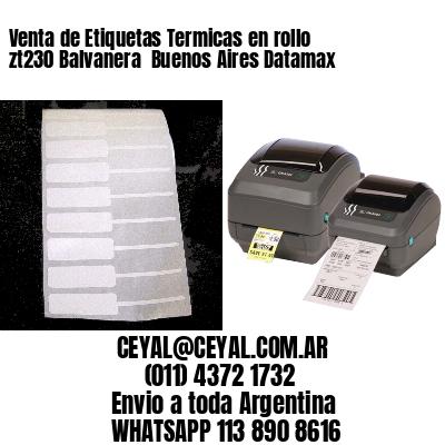 Venta de Etiquetas Termicas en rollo zt230 Balvanera  Buenos Aires Datamax