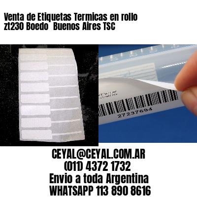 Venta de Etiquetas Termicas en rollo zt230 Boedo  Buenos Aires TSC