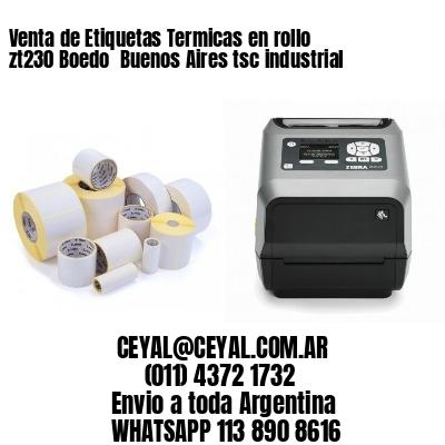 Venta de Etiquetas Termicas en rollo zt230 Boedo  Buenos Aires tsc industrial