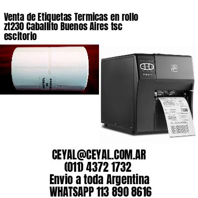 Venta de Etiquetas Termicas en rollo zt230 Caballito Buenos Aires tsc escitorio