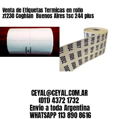Venta de Etiquetas Termicas en rollo zt230 Coghlan  Buenos Aires tsc 244 plus