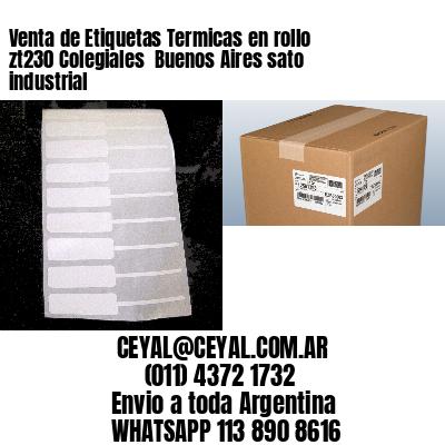 Venta de Etiquetas Termicas en rollo zt230 Colegiales  Buenos Aires sato industrial