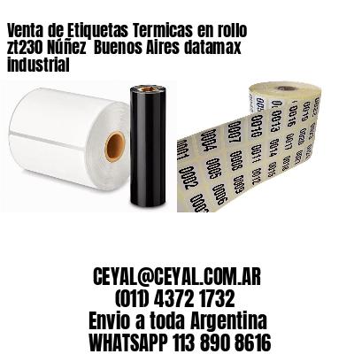 Venta de Etiquetas Termicas en rollo zt230 Núñez  Buenos Aires datamax industrial