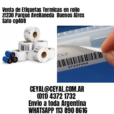 Venta de Etiquetas Termicas en rollo zt230 Parque Avellaneda  Buenos Aires Sato cg408