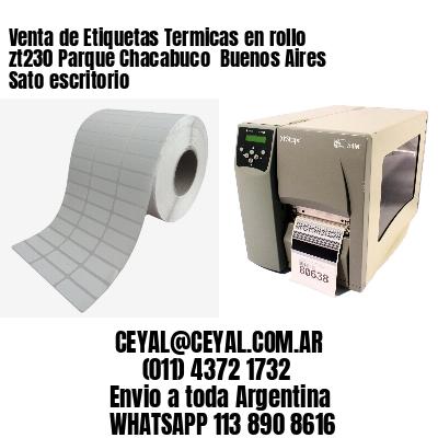 Venta de Etiquetas Termicas en rollo zt230 Parque Chacabuco  Buenos Aires Sato escritorio