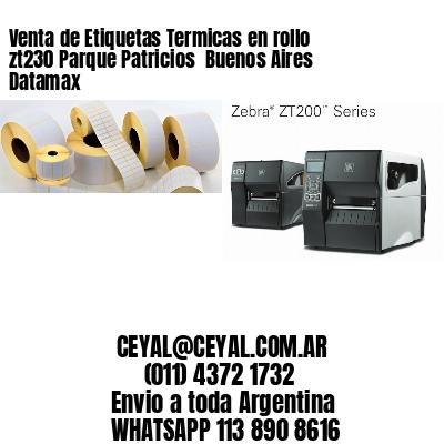Venta de Etiquetas Termicas en rollo zt230 Parque Patricios  Buenos Aires Datamax