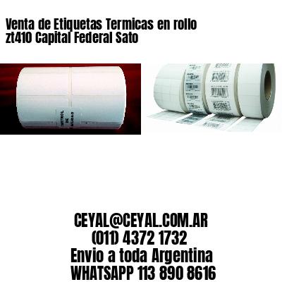 Venta de Etiquetas Termicas en rollo zt410 Capital Federal Sato