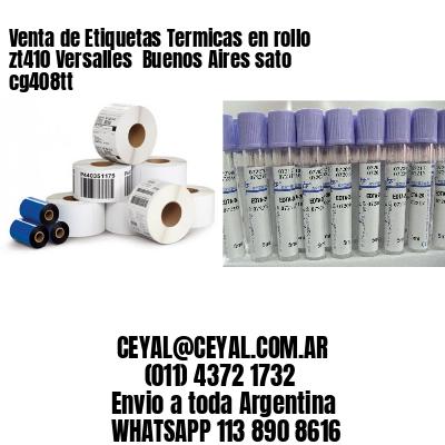 Venta de Etiquetas Termicas en rollo zt410 Versalles  Buenos Aires sato cg408tt