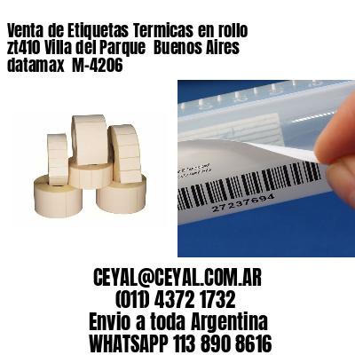 Venta de Etiquetas Termicas en rollo zt410 Villa del Parque  Buenos Aires datamax  M-4206