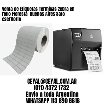Venta de Etiquetas Termicas zebra en rollo Floresta  Buenos Aires Sato escritorio