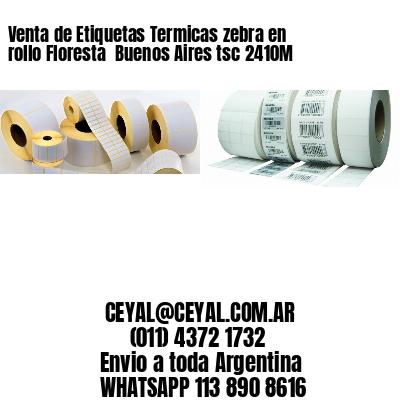 Venta de Etiquetas Termicas zebra en rollo Floresta  Buenos Aires tsc 2410M