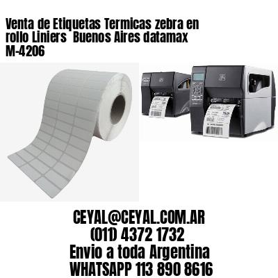 Venta de Etiquetas Termicas zebra en rollo Liniers  Buenos Aires datamax  M-4206