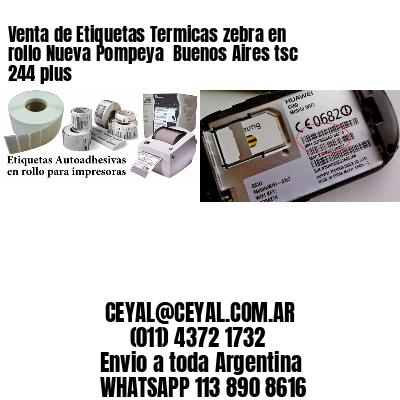 Venta de Etiquetas Termicas zebra en rollo Nueva Pompeya  Buenos Aires tsc 244 plus