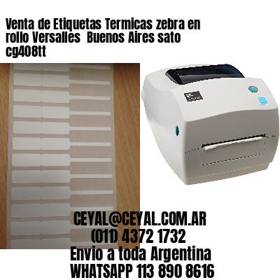 Venta de Etiquetas Termicas zebra en rollo Versalles  Buenos Aires sato cg408tt