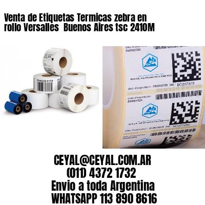 Venta de Etiquetas Termicas zebra en rollo Versalles  Buenos Aires tsc 2410M