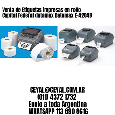 Venta de Etiquetas impresas en rollo Capital Federal datamax Datamax E-4204B