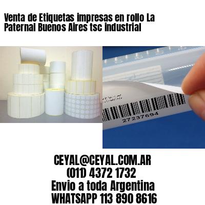 Venta de Etiquetas impresas en rollo La Paternal Buenos Aires tsc industrial