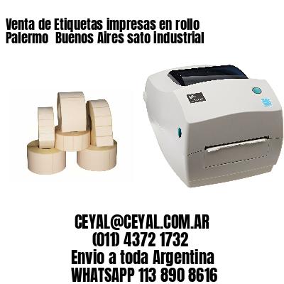 Venta de Etiquetas impresas en rollo Palermo  Buenos Aires sato industrial