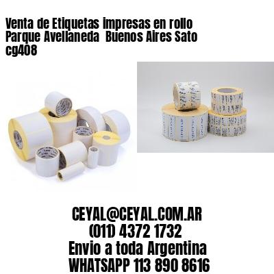 Venta de Etiquetas impresas en rollo Parque Avellaneda  Buenos Aires Sato cg408