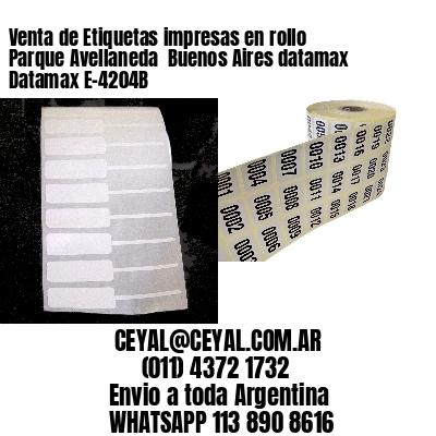 Venta de Etiquetas impresas en rollo Parque Avellaneda  Buenos Aires datamax Datamax E-4204B