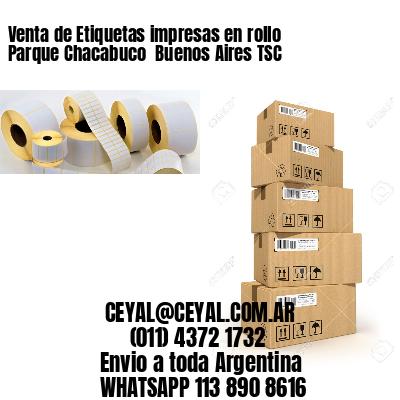 Venta de Etiquetas impresas en rollo Parque Chacabuco  Buenos Aires TSC