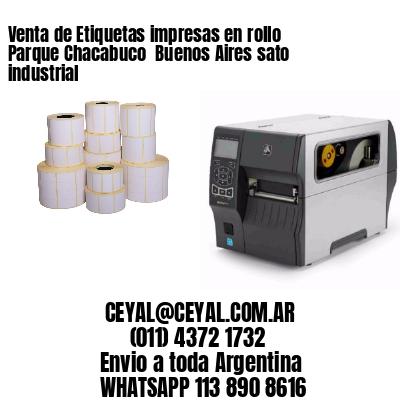 Venta de Etiquetas impresas en rollo Parque Chacabuco  Buenos Aires sato industrial