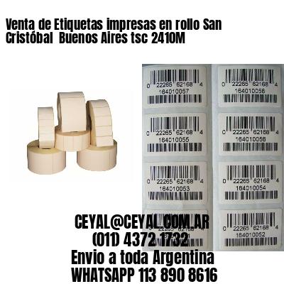 Venta de Etiquetas impresas en rollo San Cristóbal  Buenos Aires tsc 2410M