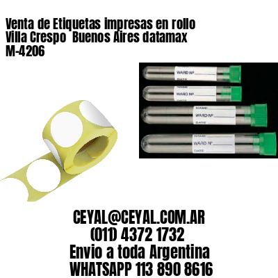 Venta de Etiquetas impresas en rollo Villa Crespo  Buenos Aires datamax  M-4206