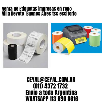Venta de Etiquetas impresas en rollo Villa Devoto  Buenos Aires tsc escitorio