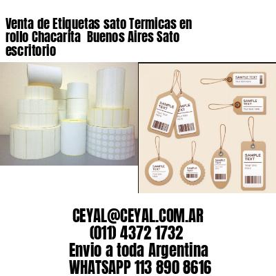 Venta de Etiquetas sato Termicas en rollo Chacarita  Buenos Aires Sato escritorio