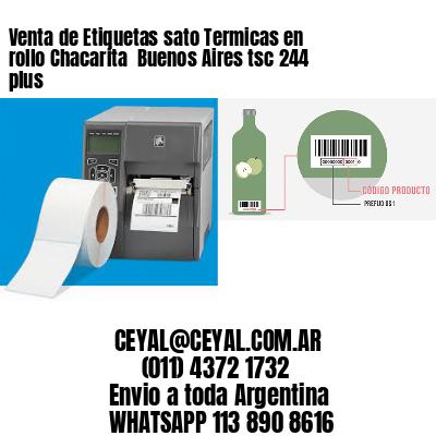 Venta de Etiquetas sato Termicas en rollo Chacarita  Buenos Aires tsc 244 plus