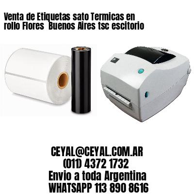 Venta de Etiquetas sato Termicas en rollo Flores  Buenos Aires tsc escitorio