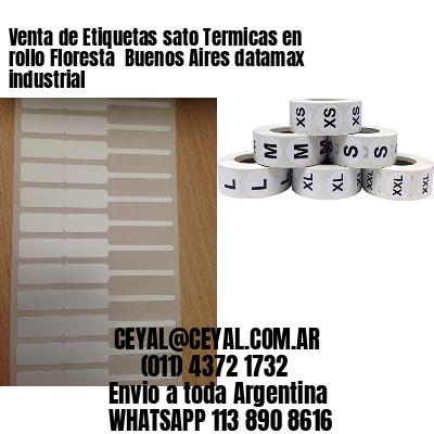 Venta de Etiquetas sato Termicas en rollo Floresta  Buenos Aires datamax industrial