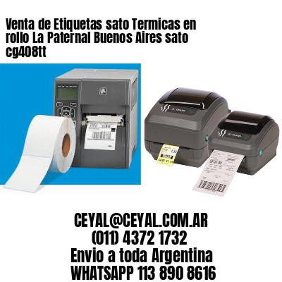 Venta de Etiquetas sato Termicas en rollo La Paternal Buenos Aires sato cg408tt