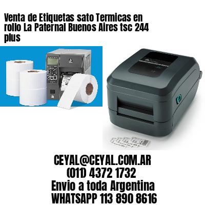 Venta de Etiquetas sato Termicas en rollo La Paternal Buenos Aires tsc 244 plus