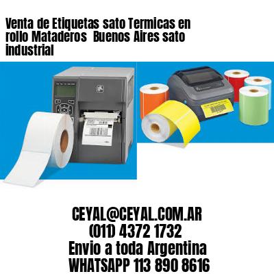 Venta de Etiquetas sato Termicas en rollo Mataderos  Buenos Aires sato industrial