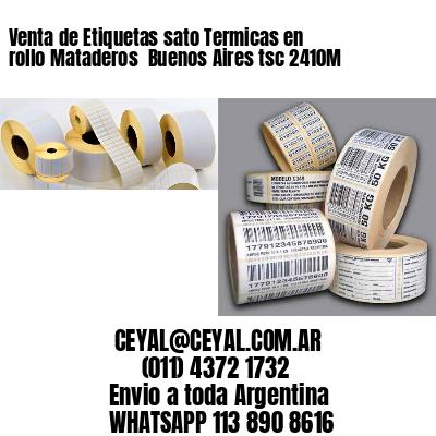 Venta de Etiquetas sato Termicas en rollo Mataderos  Buenos Aires tsc 2410M